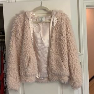 Forever 21 Faux Fur Jacket size Small